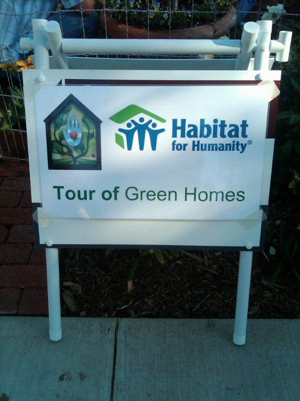 10.9.10 Santa Barbara Habitat Event Sign